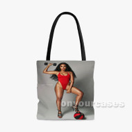 Angela Simmons Custom Personalized Tote Bag Polyester with Small Medium Large Size