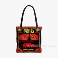 Animal Farm Custom Personalized Tote Bag Polyester with Small Medium Large Size