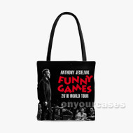 Anthony Jeselnik Funny Games Custom Personalized Tote Bag Polyester with Small Medium Large Size