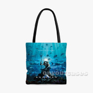 Aquaman 2 Custom Personalized Tote Bag Polyester with Small Medium Large Size