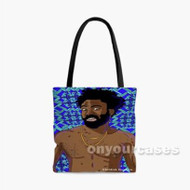 Childish Gambino this is america Custom Personalized Tote Bag Polyester with Small Medium Large Size