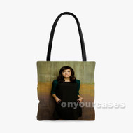 Francesca Battistelli Custom Personalized Tote Bag Polyester with Small Medium Large Size