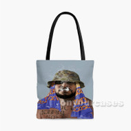 Schoolboy Q Custom Personalized Tote Bag Polyester with Small Medium Large Size