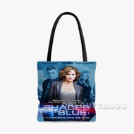 Shades of Blue Jennifer Lopez Custom Personalized Tote Bag Polyester with Small Medium Large Size