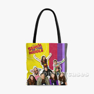 Stuck in the Middle Custom Personalized Tote Bag Polyester with Small Medium Large Size