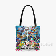 Super Smash Bros Ultimate Custom Personalized Tote Bag Polyester with Small Medium Large Size