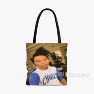Swae Lee Custom Personalized Tote Bag Polyester with Small Medium Large Size