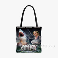 Swamp Shark Custom Personalized Tote Bag Polyester with Small Medium Large Size