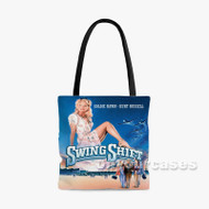 Swing Shift Custom Personalized Tote Bag Polyester with Small Medium Large Size