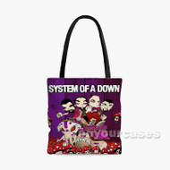 System of A Down Custom Personalized Tote Bag Polyester with Small Medium Large Size