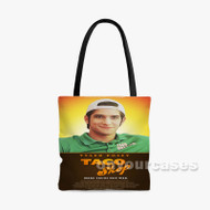 Taco Shop Custom Personalized Tote Bag Polyester with Small Medium Large Size