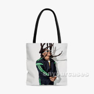 Takeoff Migos Custom Personalized Tote Bag Polyester with Small Medium Large Size