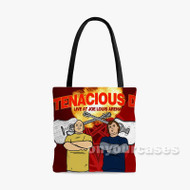 Tenacious D Custom Personalized Tote Bag Polyester with Small Medium Large Size