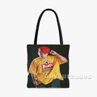 Termanology Rapper Custom Personalized Tote Bag Polyester with Small Medium Large Size