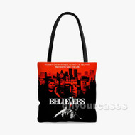 The Believers Custom Personalized Tote Bag Polyester with Small Medium Large Size