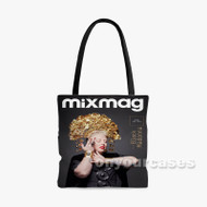 The Black Madonna Custom Personalized Tote Bag Polyester with Small Medium Large Size