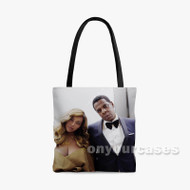The Carters Custom Personalized Tote Bag Polyester with Small Medium Large Size