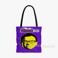 The Christ Gethard Show Custom Personalized Tote Bag Polyester with Small Medium Large Size