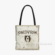 The Elder Scrolls IV Oblivion Custom Personalized Tote Bag Polyester with Small Medium Large Size