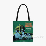 The Haunted Mansion Custom Personalized Tote Bag Polyester with Small Medium Large Size