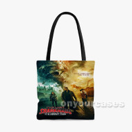 The Last Sharknado It s About Time Custom Personalized Tote Bag Polyester with Small Medium Large Size