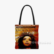 The Miseducation of Lauryn Hill Custom Personalized Tote Bag Polyester with Small Medium Large Size