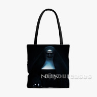 The Nun Custom Personalized Tote Bag Polyester with Small Medium Large Size
