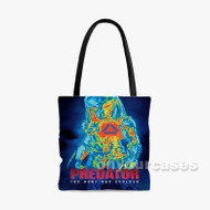 The Predator 2 Custom Personalized Tote Bag Polyester with Small Medium Large Size