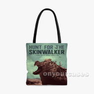 The Skinwalker Custom Personalized Tote Bag Polyester with Small Medium Large Size