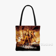 The Time Machine Custom Personalized Tote Bag Polyester with Small Medium Large Size