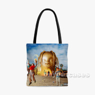 Travis Scott Astroworld 2 Custom Personalized Tote Bag Polyester with Small Medium Large Size