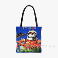 Travis Scott Astroworld Custom Personalized Tote Bag Polyester with Small Medium Large Size