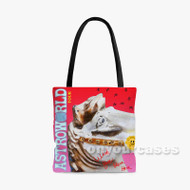 Travis Scott Astro World Tour Custom Personalized Tote Bag Polyester with Small Medium Large Size
