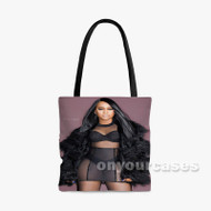 Trina rapper Custom Personalized Tote Bag Polyester with Small Medium Large Size