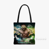 Triple H Custom Personalized Tote Bag Polyester with Small Medium Large Size