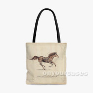 Turnpike Troubadours Custom Personalized Tote Bag Polyester with Small Medium Large Size