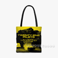Twenty One Pilots The Bandito Tour Custom Personalized Tote Bag Polyester with Small Medium Large Size