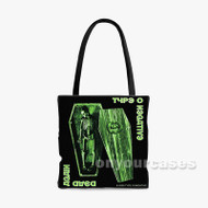 Type O Negative Custom Personalized Tote Bag Polyester with Small Medium Large Size