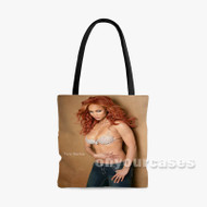Tyra Banks Custom Personalized Tote Bag Polyester with Small Medium Large Size