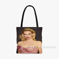 Vanessa Kirby Custom Personalized Tote Bag Polyester with Small Medium Large Size