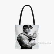 Vanilla Ice Rapper Custom Personalized Tote Bag Polyester with Small Medium Large Size