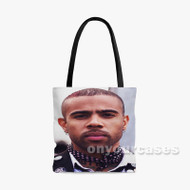 Vic Mensa Custom Personalized Tote Bag Polyester with Small Medium Large Size