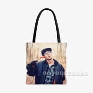 Webby Custom Personalized Tote Bag Polyester with Small Medium Large Size
