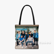 Why Don t We Pollstar Custom Personalized Tote Bag Polyester with Small Medium Large Size