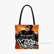 Wild n Out Nick Cannon Custom Personalized Tote Bag Polyester with Small Medium Large Size