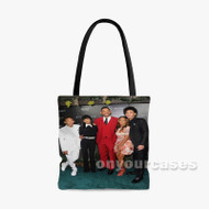 Will Smith Family Custom Personalized Tote Bag Polyester with Small Medium Large Size