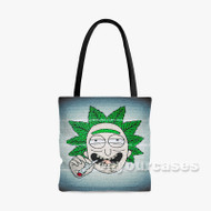 Wiz Khalifa Where Is Da Bud Custom Personalized Tote Bag Polyester with Small Medium Large Size