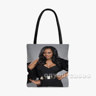 Yandy Smith Custom Personalized Tote Bag Polyester with Small Medium Large Size