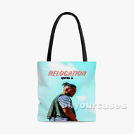 Yung L Custom Personalized Tote Bag Polyester with Small Medium Large Size