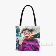 Yungblud Custom Personalized Tote Bag Polyester with Small Medium Large Size